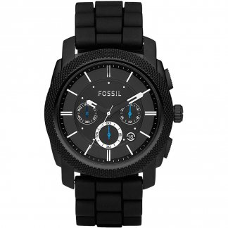 Men's Machine All Black Chronograph Watch FS4487