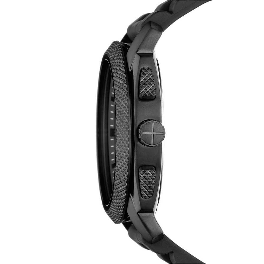 fossil men s machine all black chronograph watch watches from men 039 s machine all black chronograph watch
