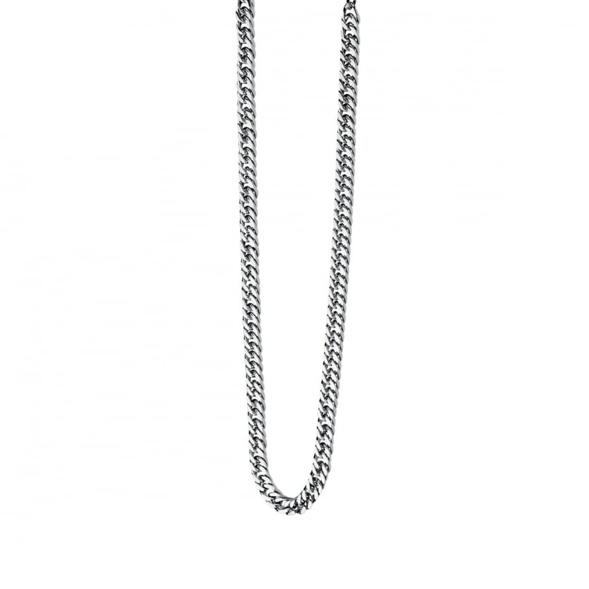 Fred Bennett Men's Stainless Steel Curbed Chain N3224