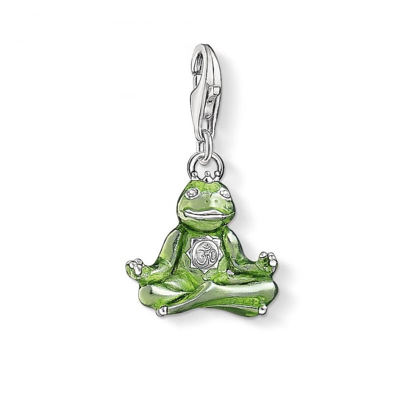 Thomas Sabo Frog with Crown Charm 1302-041-6