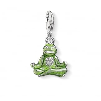 Frog with Crown Charm