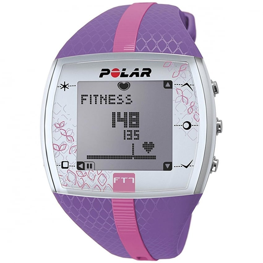 FT7F Lilac/Pink Heart Rate Monitor Watch 90053993