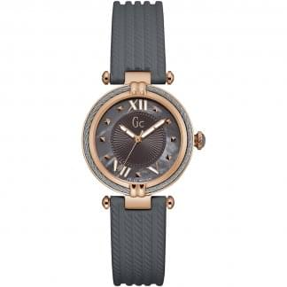 Ladies CableChic MoP Rose/Grey Watch