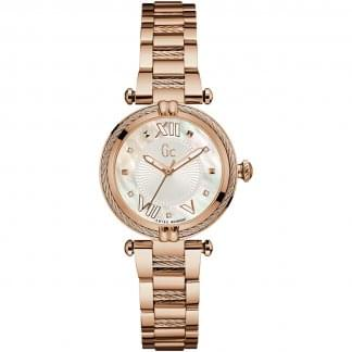 Ladies CableChic Rose Gold Bracelet Watch