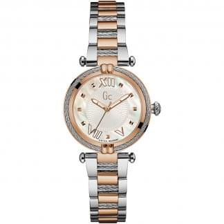 Ladies CableChic Two Tone Watch