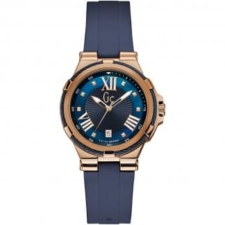 Ladies Structura Cable Blue/Rose Watch