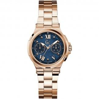 Ladies Structura Rose/Blue Day/Date Watch