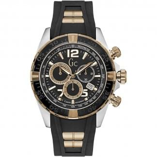 Men's SportRacer B/G Chronograph Silicone Watch
