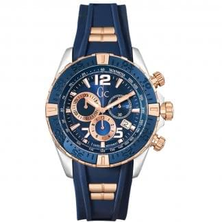 Men's SportRacer Chronograph Silicone Watch