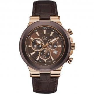 Men's Structura Brown Chronograph Watch
