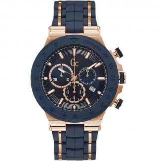 Men's Structura Sport Rose/Blue Chronograph Watch