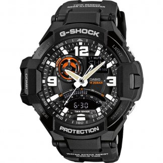 Gent's G-Shock Sky Cockpit Alarm Chronograph Watch GA-1000-1AER