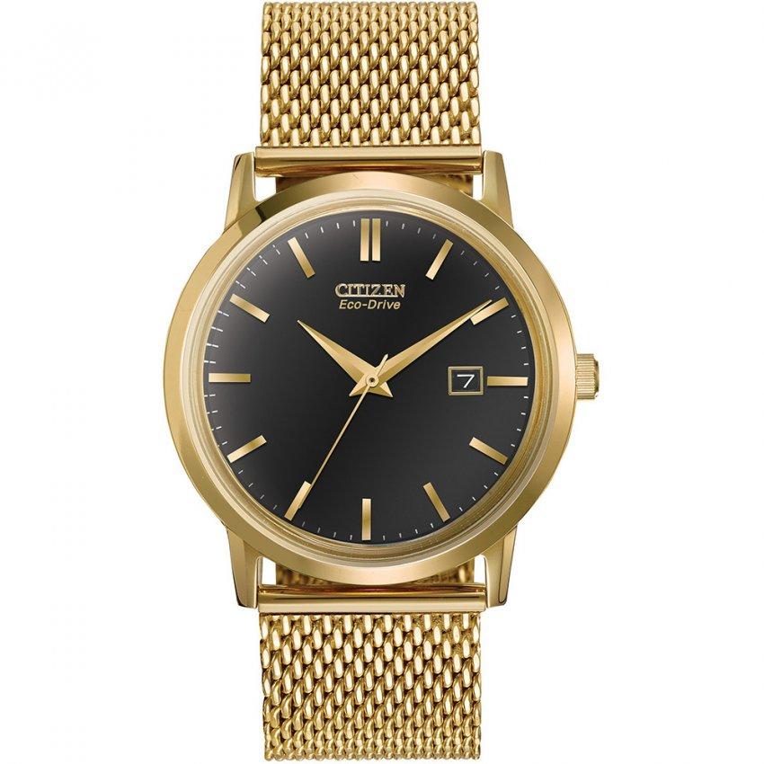 citizen gent s eco drive gold mesh bracelet watch watches from gent 039 s eco drive gold mesh bracelet watch