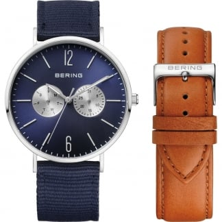 Gent's Classic Interchangeable Day/Date Watch