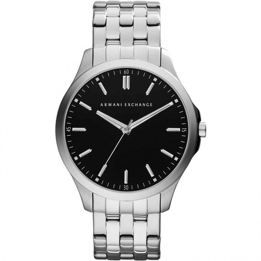 Armani Exchange Gent's Low Profile Stainless Steel Watch AX2147