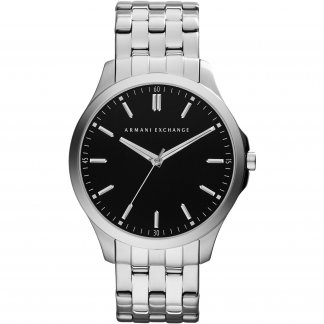 Gent's Low Profile Stainless Steel Watch