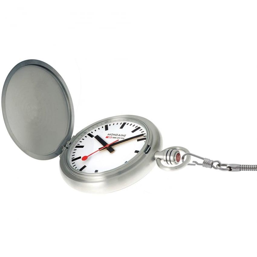 Mondaine Gent's Savonette II Pocket Watch A660.30349.16SBB
