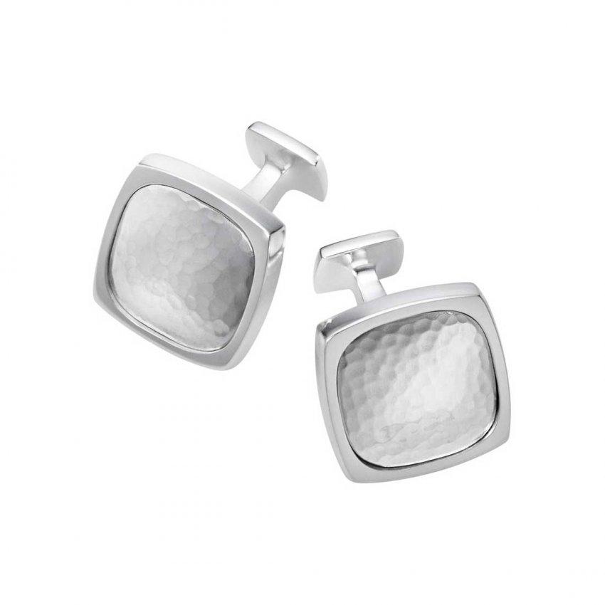 Georg Jensen Gent's Silver Smithy Cufflinks 3533876