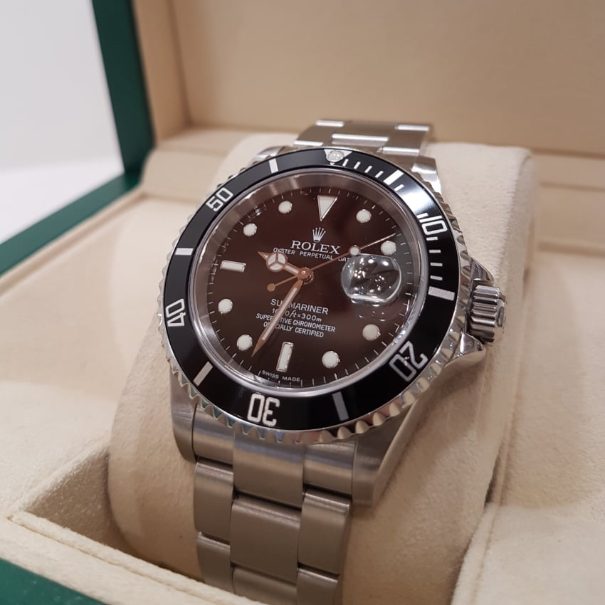 Pre-Owned Rolex Gent's Submariner Oyster Perpetual Date 16610 (2006) 4018961