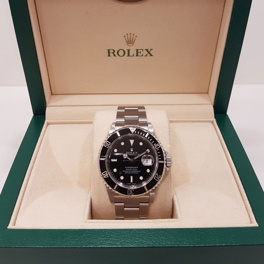 Pre-Owned Rolex Gent's Submariner Oyster Perpetual Date 16610 (2009) 4018933