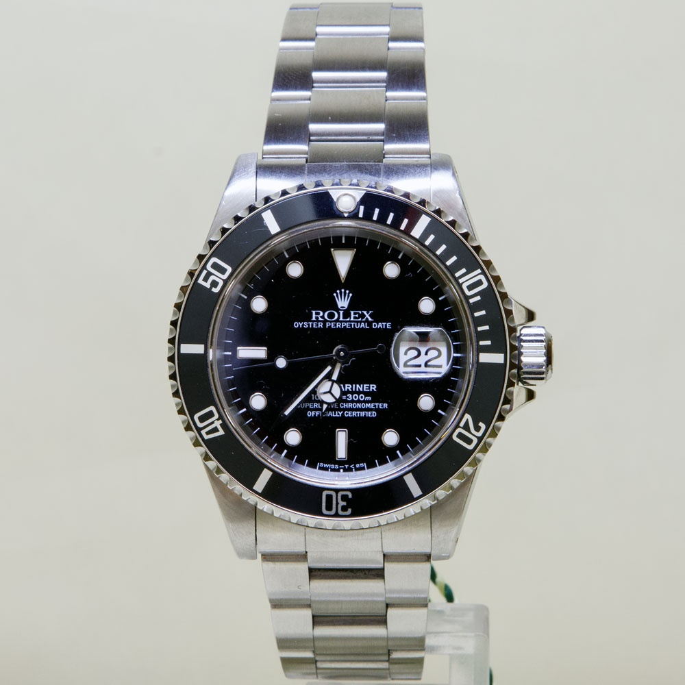 7f9a64a0f974 Gents  Submariner Oyster Perpetual Date Watch 16610 (1998) Product Code   4018619