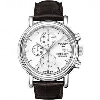 Gent's White Dial Carson Automatic Watch T068.427.16.011.00