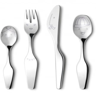 Alfredo the Twist Family 4pcs Cutlery Set