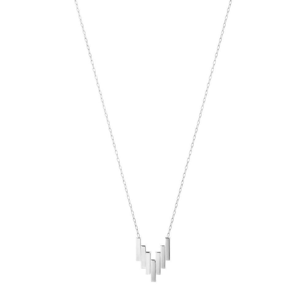 Ladies georg jensen 3533018 aria necklace francis gaye online aria sterling silver necklace aloadofball Images