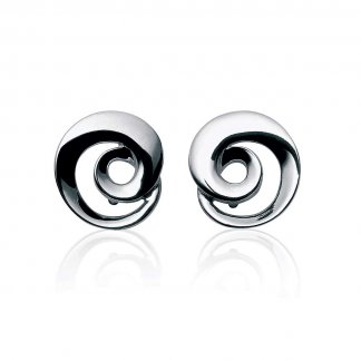 Continuity Silver Earrings