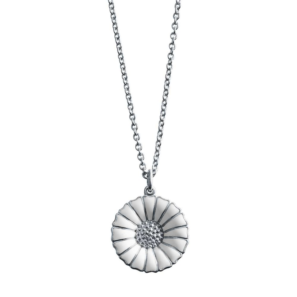 necklace big daisy pendants women monroe alex jewellery silver necklaces image pendant