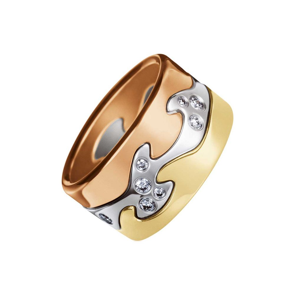 Georg Jensen Fusion Ring 3541706 Francis Gaye Jewellers