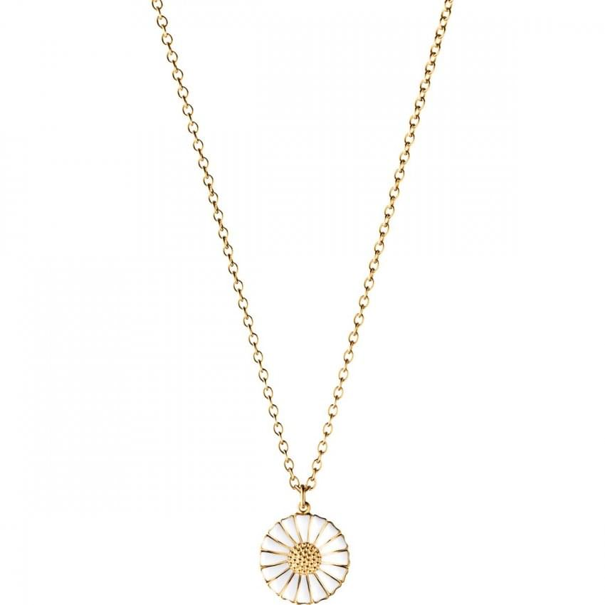 Georg Jensen Gold Plated Daisy Necklace 3536214