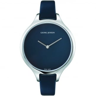 Ladies Concave 39mm Nordic Night Leather Watch