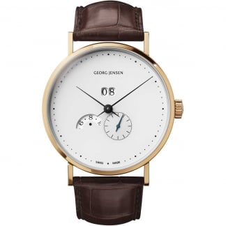 Men's 18ct Rose Gold Koppel Grande Date Annual Calendar Watch