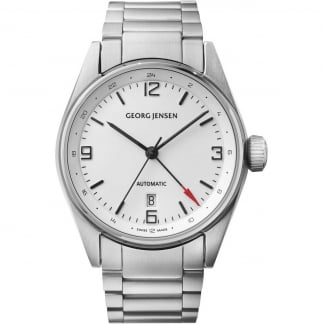 Men's Delta Classic 42mm Automatic GMT Watch