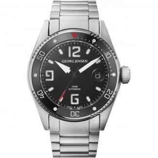 Men's Delta Dive 42mm Automatic Diver's Watch