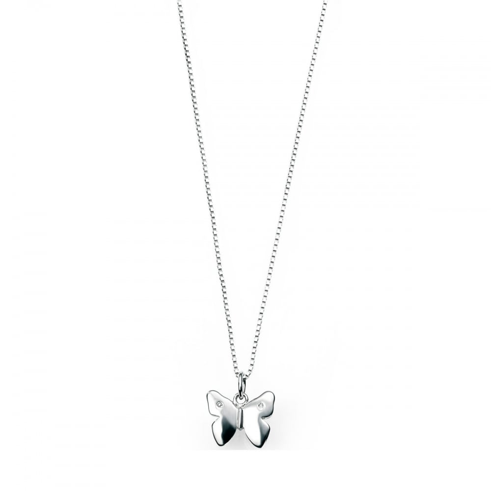 Silver D For Diamond Necklaces & Pendants