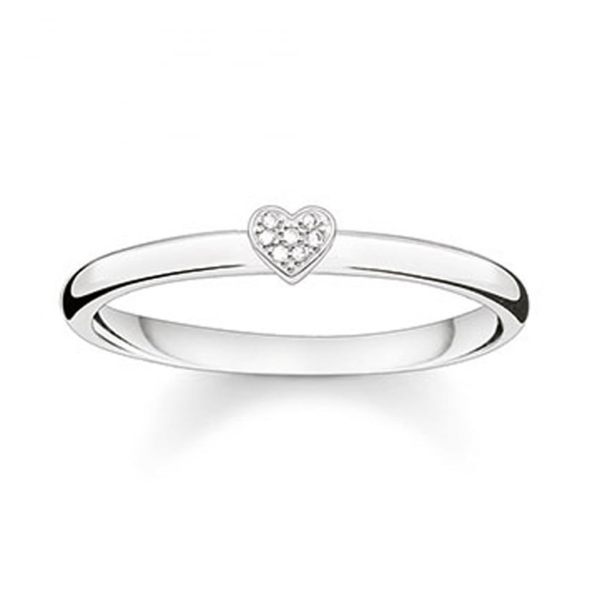 Thomas Sabo Glam and Soul Diamond Heart Ring D_TR0014-725-14