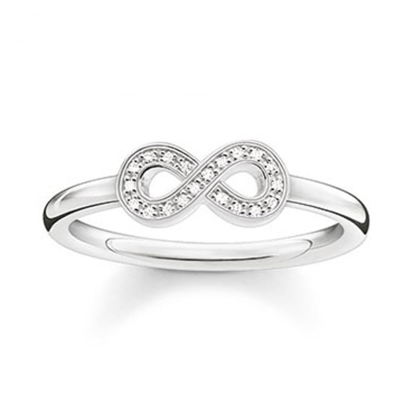 Thomas Sabo Glam and Soul Diamond Infinity Ring D_TR0001-725-14