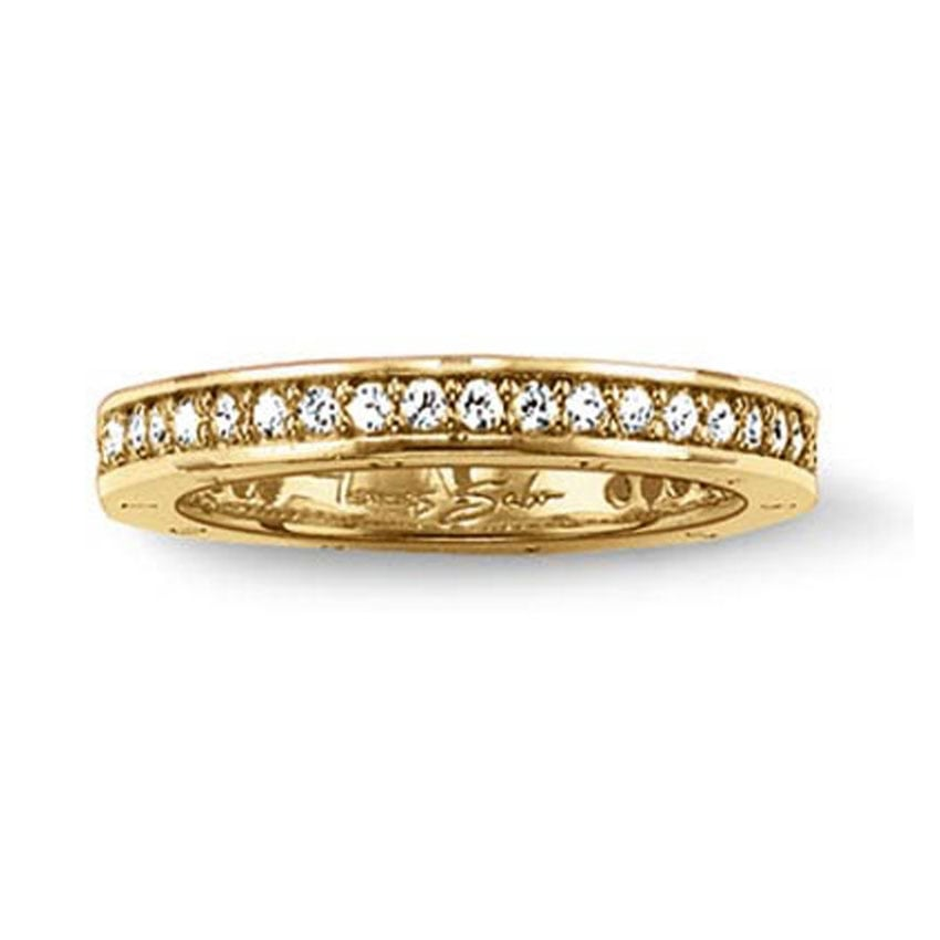 Thomas Sabo Glam and Soul Gold Eternity Ring TR1700-414-14