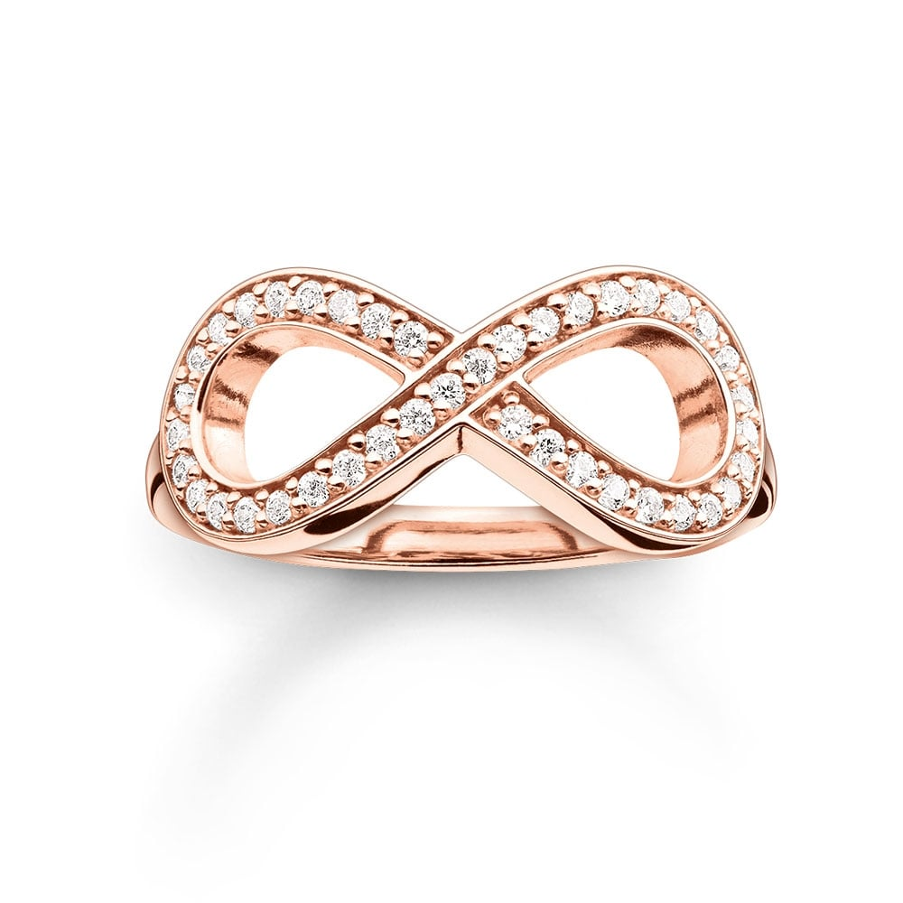 pave setting ring infiniti products infinity