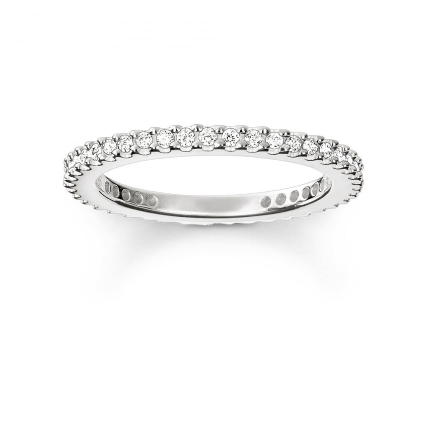 Thomas Sabo Glam and Soul Skinny Eternity Ring TR1980-051-14