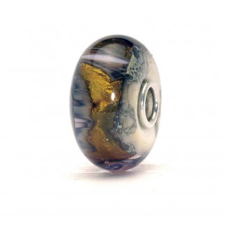 Glass Golden Cave Bead