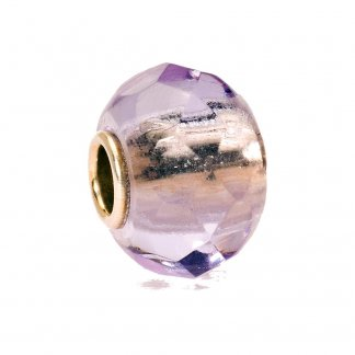 Glass Lavender Prism Bead 60190