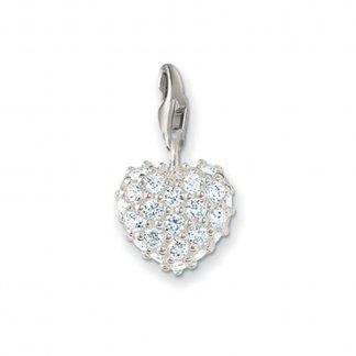 Glittering Heart Charm 0019-051-14