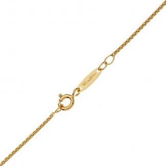Gold Mini Square Belcher Chain KE1106-413-12