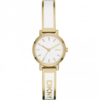 Ladies Soho Gold Tone Bangle Watch NY2358