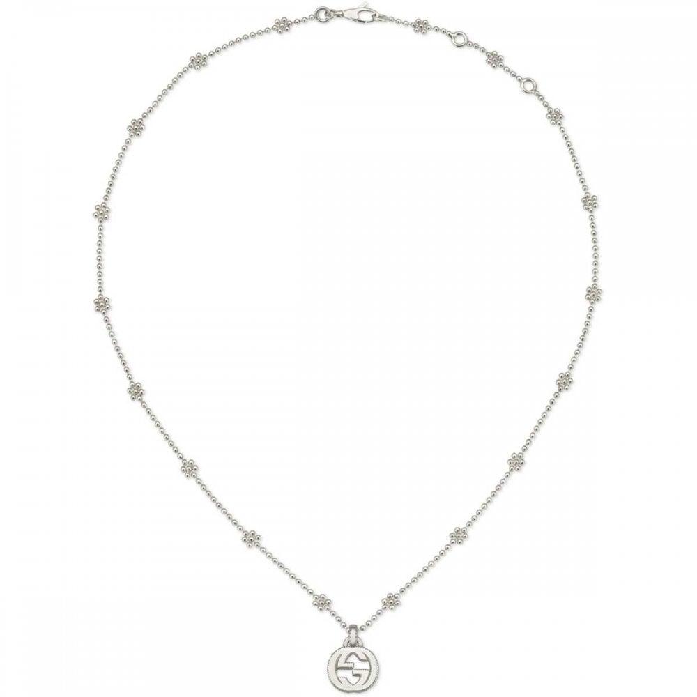 Gucci Interlocking G Flower Motif Necklace , 40cm