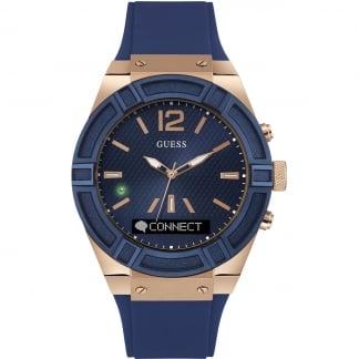 Men's CONNECT Blue & Rose 45mm Smartwatch C0001G1