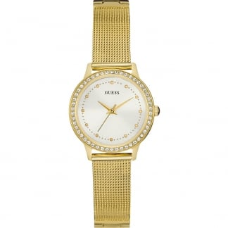 Ladies Chelsea Gold Mesh Bracelet Watch